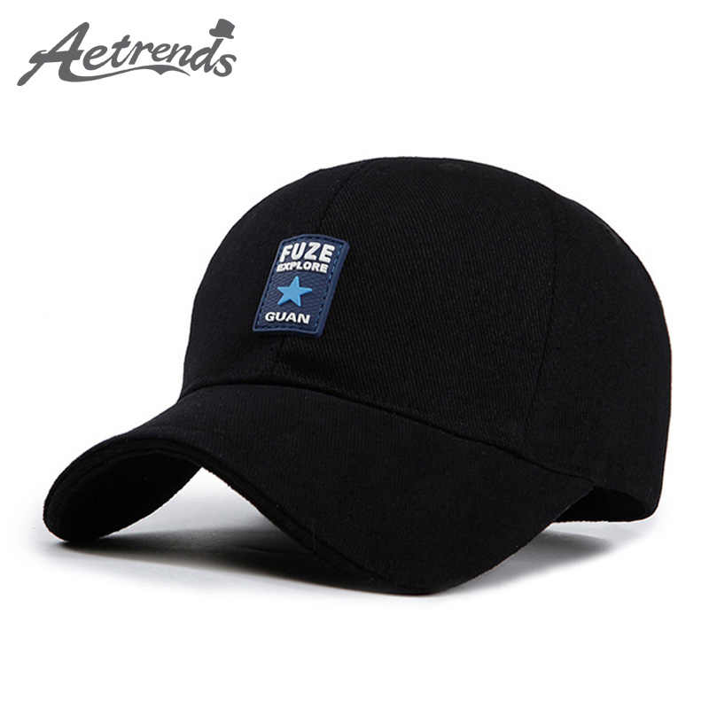 ff4ef988816  AETRENDS Men hat summer russia black trucker cap man mark hip hop baseball  cap