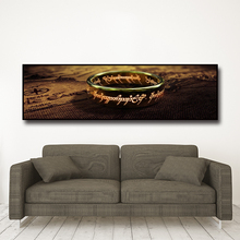 Canvas Pictures Wall Art movie Lord Of The Rings Paintings HD Prints One piece Ring Posters Bedside Living Room Home Decor mural