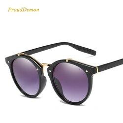 2018 Vintage Ronde Rivet lunettes De Soleil Femmes Marque Designer Lunettes  UV400 Gradient Femelle Rétro Soleil 10ce51027749