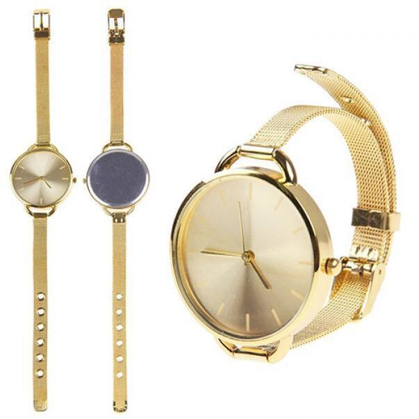 Women's Watches 2018 Relogio Masculino Fashion Gold Silver Ladies Watch Women Watches Stainless Steel Quartz Wrist Watch Clock
