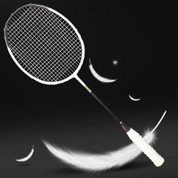خفيفة المهنية كرة تنس ريشة من ألياف الكربون مضرب 5U Raquette 6 ألوان المضارب Z سرعة قوة بادل خفيفة الوزن 75-79g