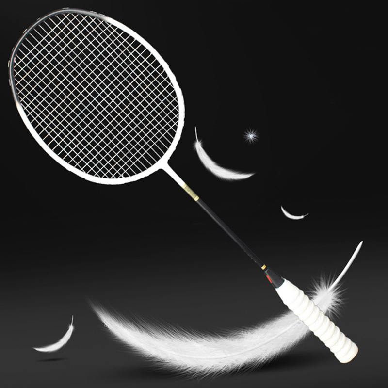 Ultralight Professional Carbon Fiber Badminton Racket 5U Raquette 6 Colors Rackets Z Speed Force Padel Light Weight 75-79g
