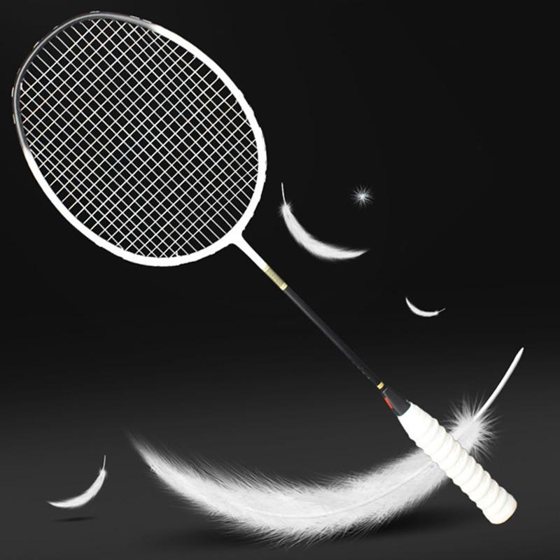 Ultralight Professional Carbon Fiber Badminton Racket 5U Raquette 6 Colors Rackets Z Speed Force Padel Light Weight 75-79g