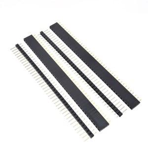 Image 5 - Free Shipping 1lot=10pcs 1x40 Pin 2.54mm Single Row Female + 10pcs 1x40 Male Pin Header connector