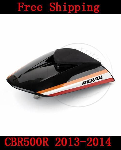 ФОТО For Honda CBR500R 2013-2014 motorbike seat cover CBR 500 R  Brand New Motorcycle fairing rear sear cowl cover