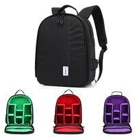 DSLR Camera Bag Backpack Photo Camera Backpack Bag Camera Bag Backpack For Sony A6000 Nikon D90