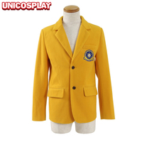Spider Man Homecoming Peter Parker Blazer Cosplay Costumes Yellow Jackets Outwear New Spiderman Suits Woolen Version