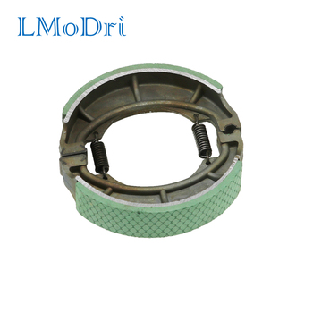 LMoDri Motorcycle Brake Shoe For SUZUKI GN125 Rear Brake Shoes BAJAJ100 GS125 RX125 BM100 HaoJue motorcycle modification retro large fuel tanks pure color light curing paint without side hole for suzuki gn125
