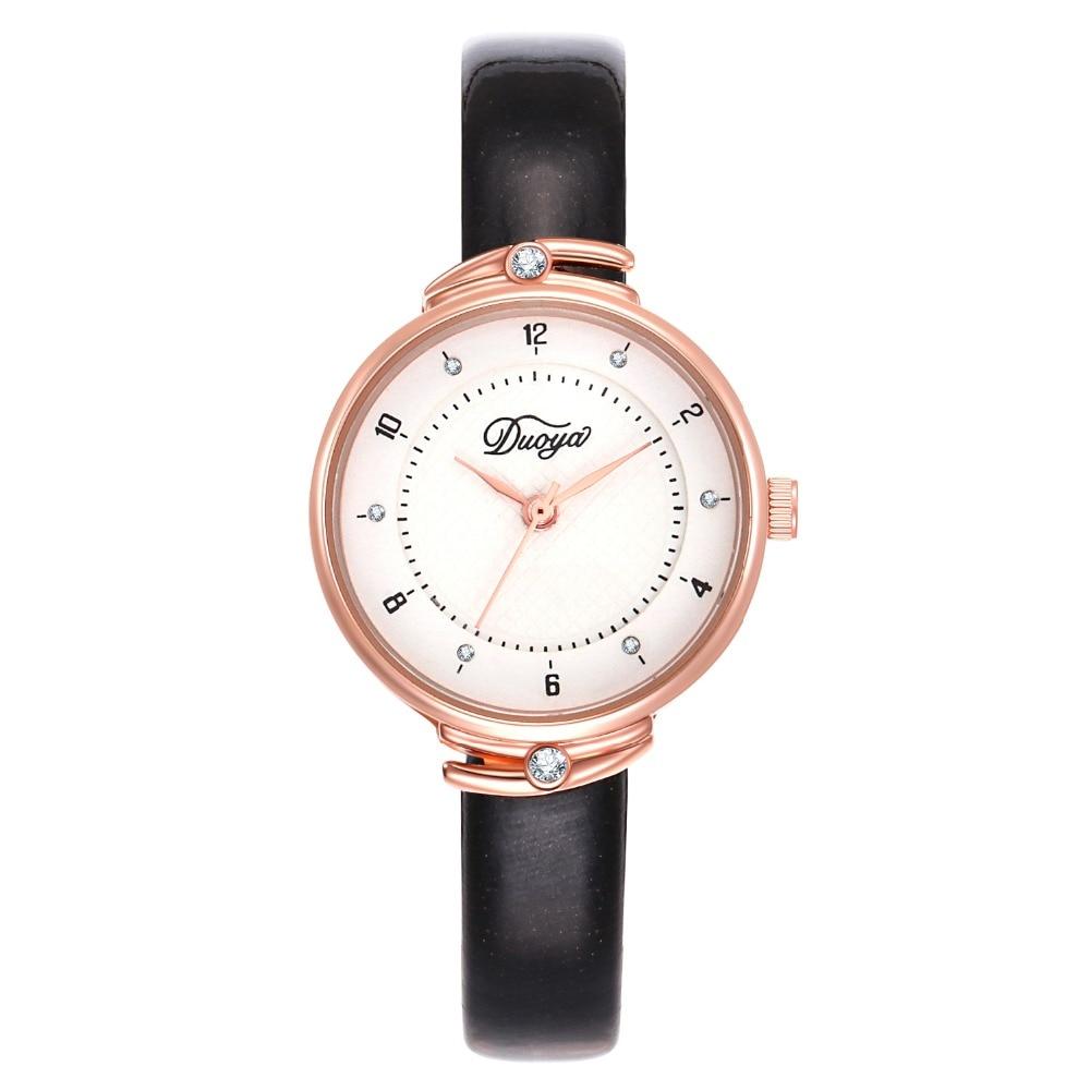 Women 39 s Watches Fashion Leather Wrist Watch Vintage Ladies Watch Irregular Clock Mujer Bayan Kol Saati Montre Feminino in Women 39 s Watches from Watches