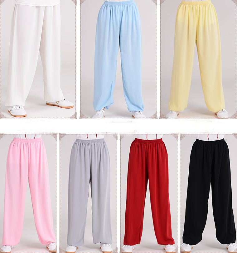 e18c1d090 Practical 7color Unisex Male&female Tai Chi Pants Taijiquan Spring&summer Trousers  Martial Arts Kung Fu Sports Pants Fitness & Body Building Sports & ...