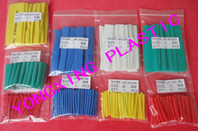 цена на 500pcs /lot 10.0mm 3cm length pvc heat shrink tube ratio 2:1 sleeving