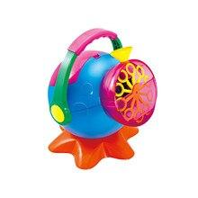 Автоматическая Большая Машина Мыла Пузыри Чайник Игрушки, Электронные Машины Пузыря, Пузырь Пушка Burbujas Вентилятор Игрушка для Партии На Открытом Воздухе Игрушка в подарок