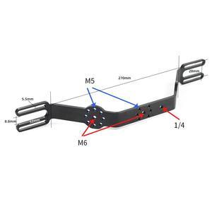 Image 5 - Aluminium nurkowanie podwodne taca zestaw światła wysięgnik uchwyt System z uchwyt rękojeści stabilizatora sportowe lustrzanka obudowa