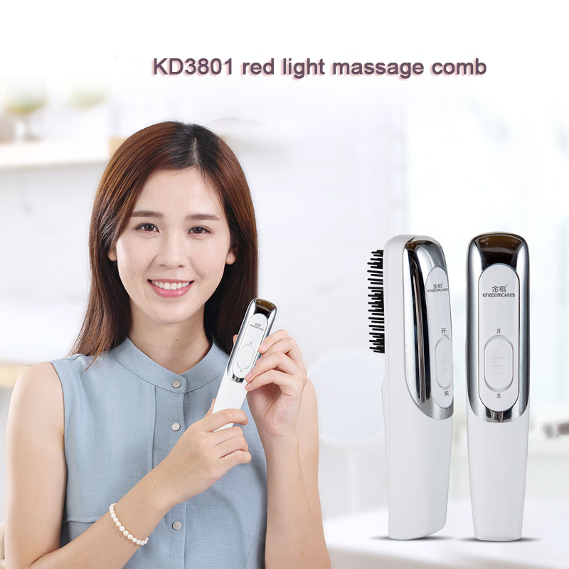 Hair care Red light laser hair growth Comb Hair brushes grow Anti hair Loss Therapy regrowth device machine infrared massager-in Electric Hair Brushes from Home Appliances