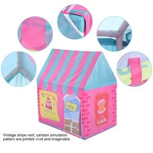 Image 2 - ילדים צעצועי אוהלי ילדים לשחק אוהל ילד ילדה נסיכת טירה מקורה חיצוני ילדים בית לשחק כדור בור בריכת תיאטרון עבור ילדים