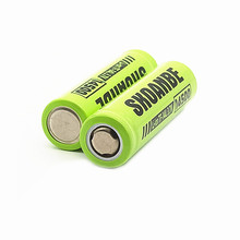 Flat Top 14500 BATTERY  US14500 3.7 v rechargeable li ion Batteries led lampe de poche Batterie
