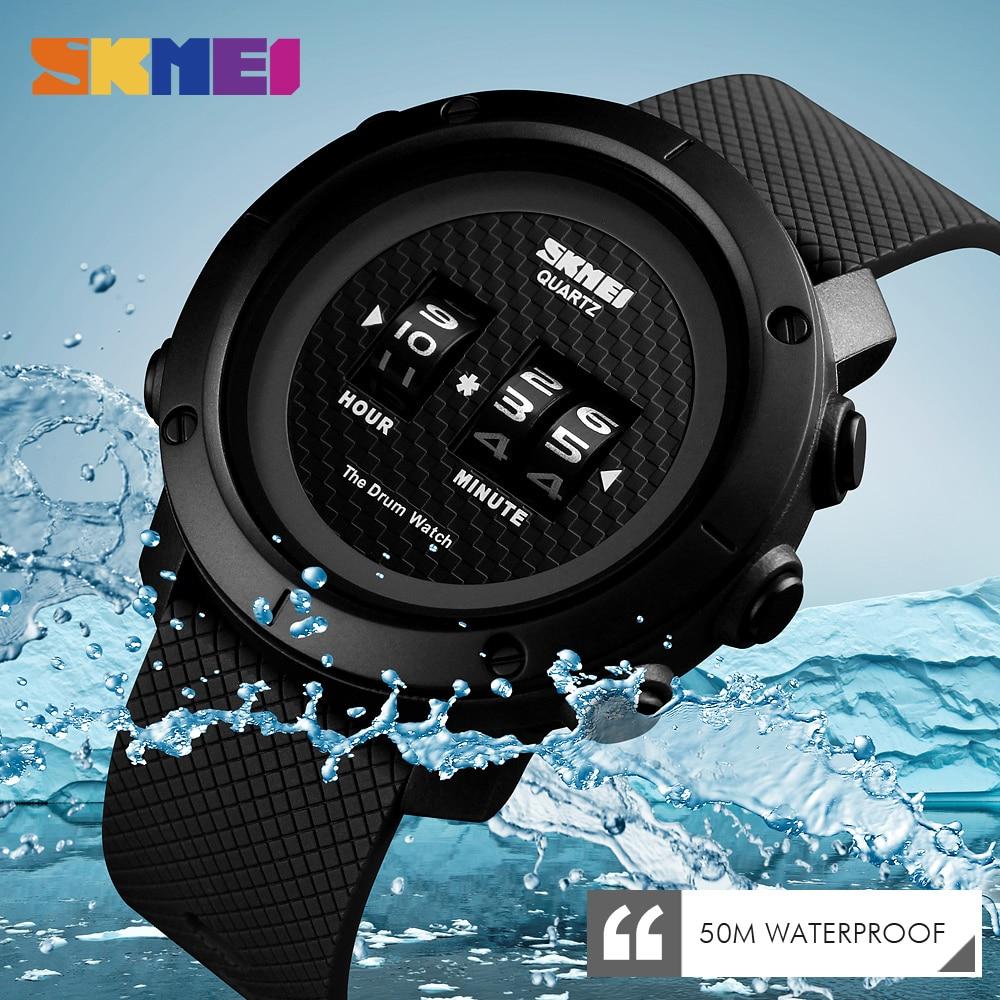 2019 New Fashion Watch Men Watch Sport Digital Wristwatches Multi-function 50M Waterproof Brand Watches Relogio Masculino SKMEI
