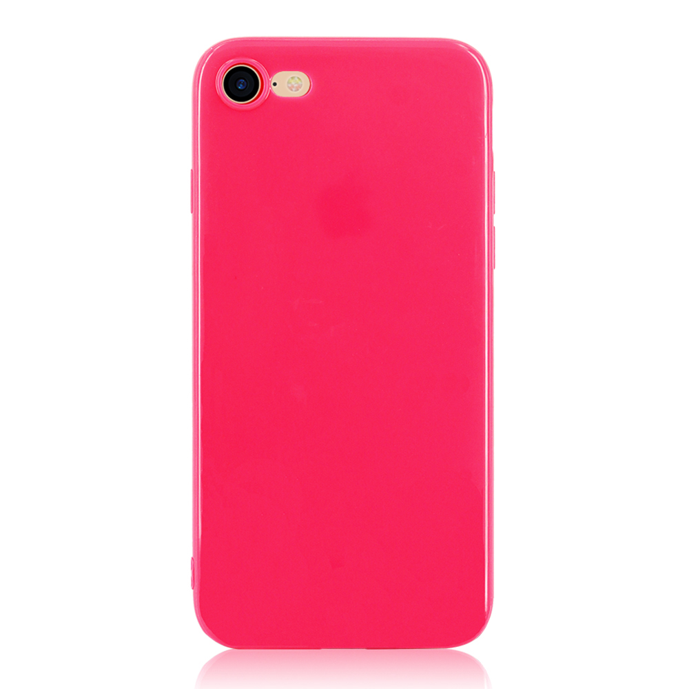 KIP71147M_1_Smooth Pure Color Series Soft TPU Case for iPhone 7