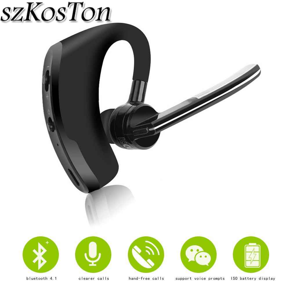 Original Business Bluetooth Headset Noise Cancelling Voice Control Wireless Headphone Driver Sport Earphone For Iphone Android Sport Earphone Earphones For Iphonewireless Headphones Aliexpress