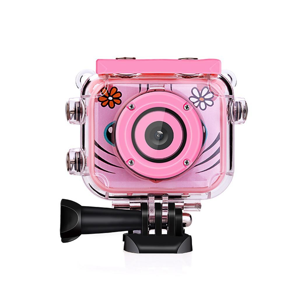 Children HD Didital Video Camera Camcorder Outdoor Sports Portable Cute Waterproof Record Video Resistant Mini Camera(China)