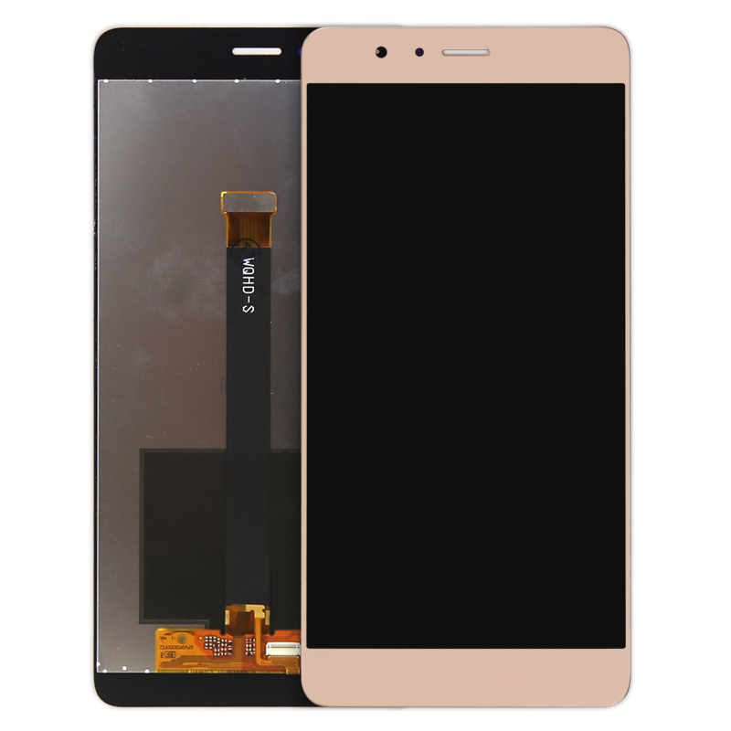 Good Working 5Pcs/lot For Huawei Honor V8 Premium Version Lcd Display With Touch Screen Digitizer Assembly Free Dhl Shipping 5 0 black white gold color for huawei honor 4c lcd display touch screen digitizer with frame assembly with free tools 1pc lot