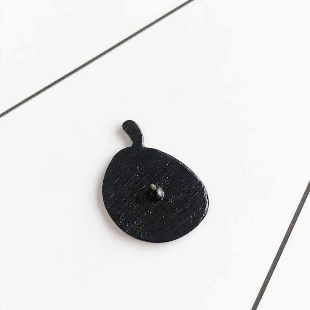 Kreative Lustige Rosa KANN TAG Emaille Pins Getrocknete Milch Getreide Schüssel Abzeichen Brosche Revers Pin Hemd Hut Rucksack Broschen Schmuck geschenke