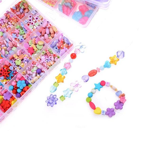 collier perle jouet