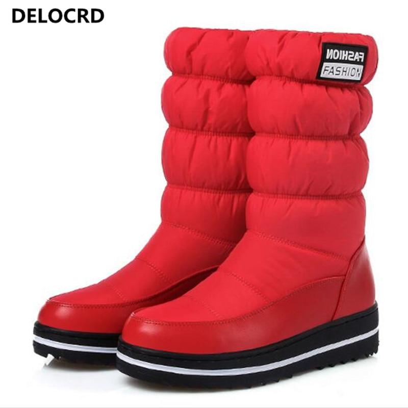 Invierno 44 Nieve Mujeres Caliente Shoes35 Botas 2018 Casual Yar Mujer Red De Más Las blue Sra Algodón black Terciopelo Nuevo Moda qaSIaw