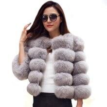 NEW ARRIVAL Elegant Faux Fur Coat fluffy Jacket 2017 Winter Women Thick Warm Faux Fur Coats Outerwear Fake Fur Jacket LJLS011