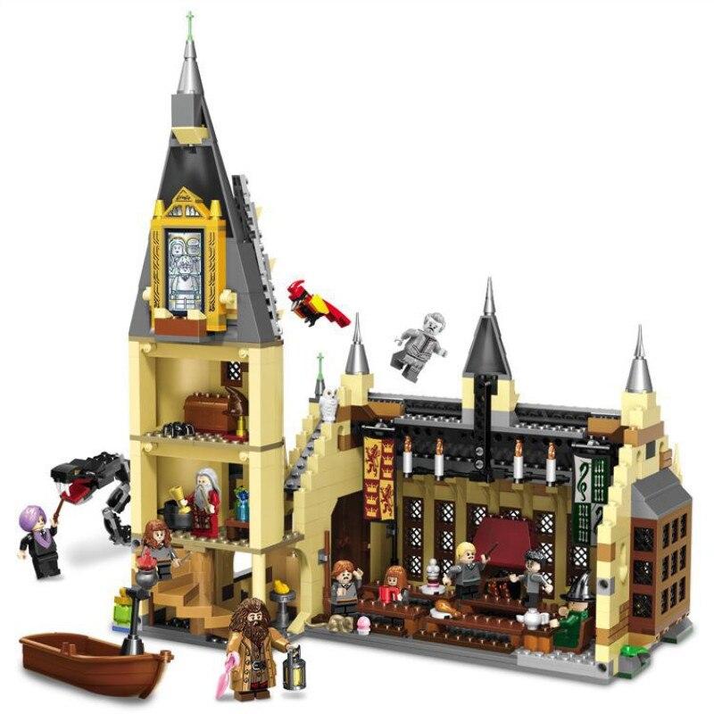 16060 модель замка из фильма, Волшебная модель замка, 6742 шт., строительные блоки, кирпичи, игрушки, детский подарок, совместимы с legoinglys city 71043 - 4