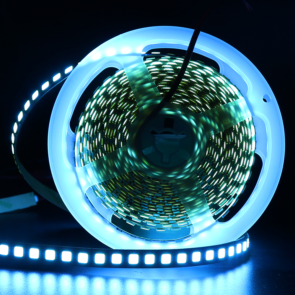 5M 600 LED 5054 LED Strip Light Waterproof DC12V Ribbon Tape Brighter Than 5050 Cold White/Warm White/Ice Blue/Red/Green/blue
