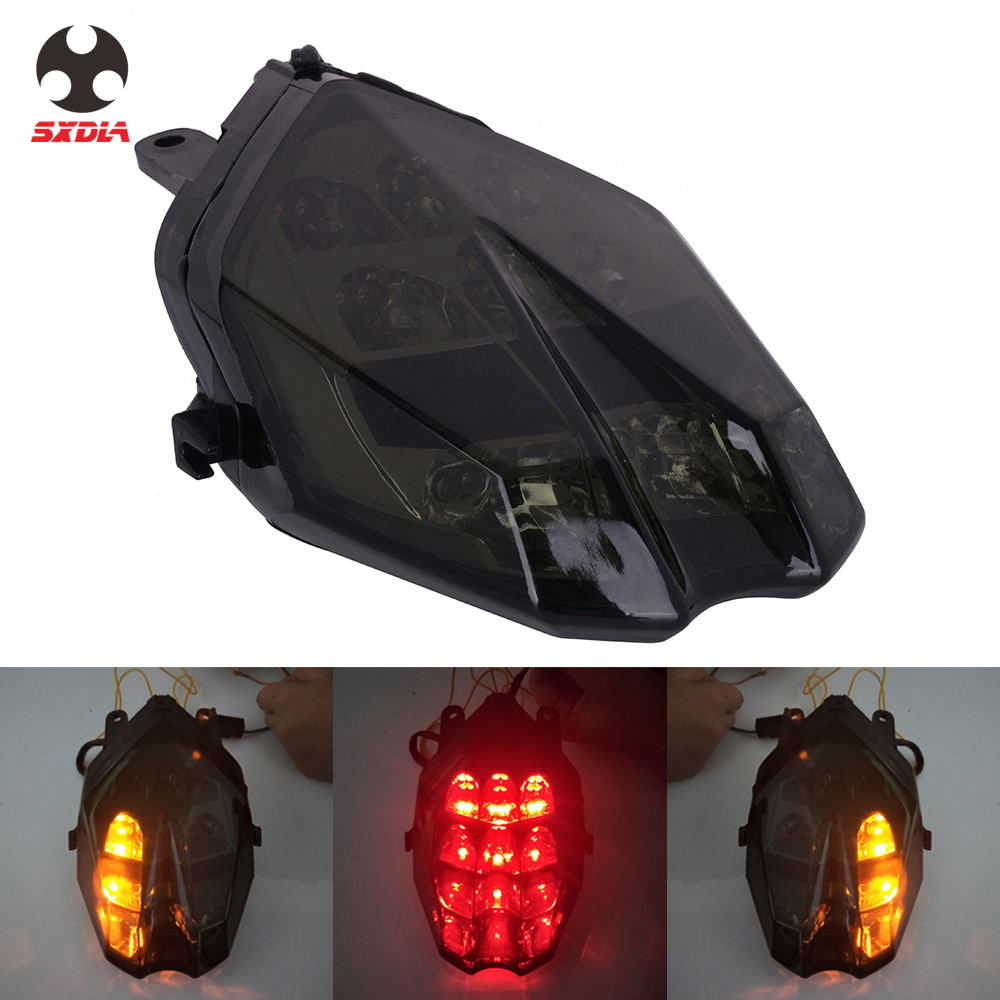 Motorcycle Accessories LED Tail light Turn Signal Rear Brake Lamp For TRIUMPH Daytona 675R 675 Speed Triple R 675 2013-2018