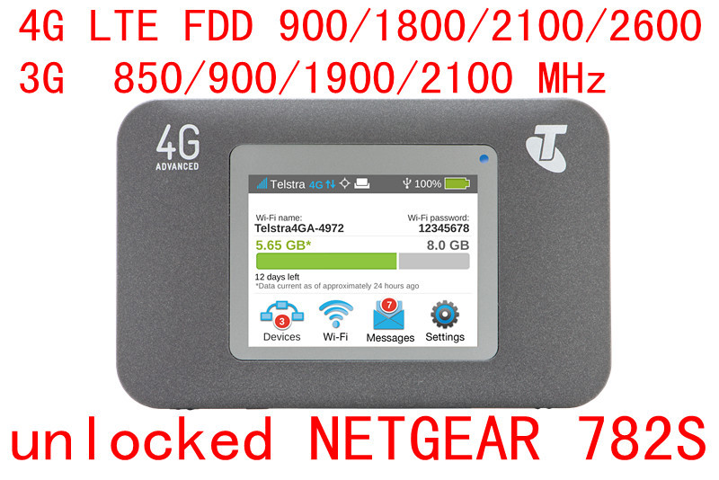 Unlocked AirCard 782 S Mobile Hotspot 4g Lte FDD Alle Band 4g Mifi Router Pocket Wifi Draadloze Dongle Pk 760 S 790 S 785 S 762 S Y800