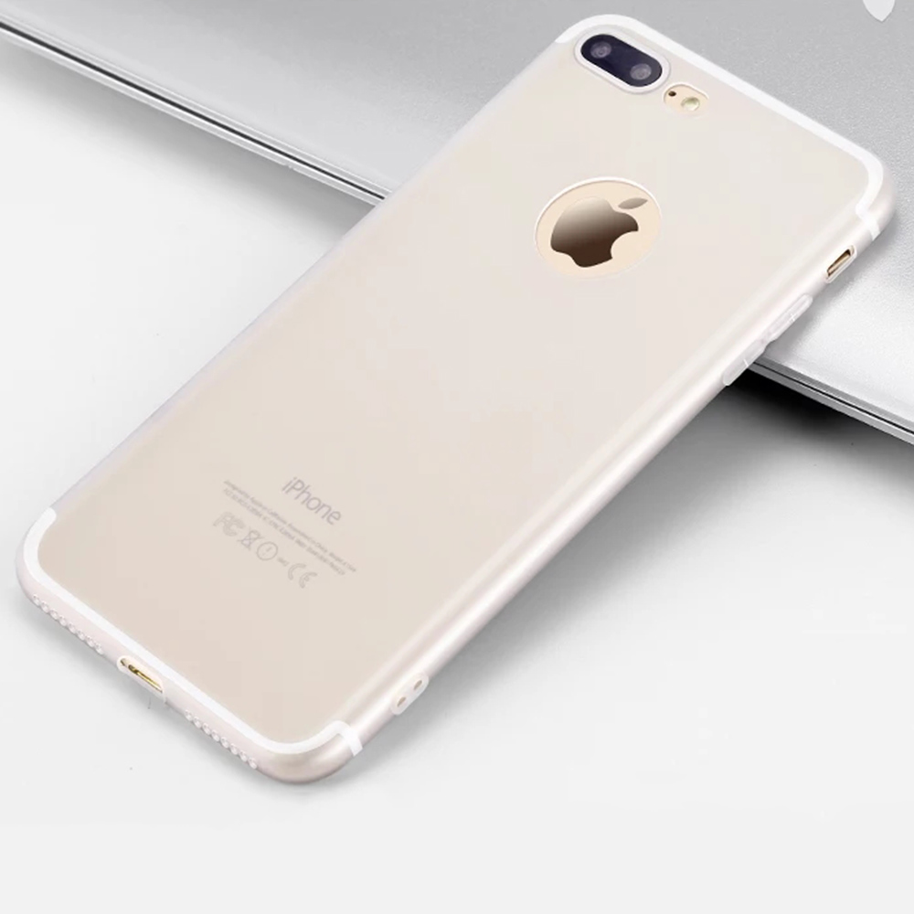Anti-knock Glossy for iPhone 7 Plus Phone Cover Casing Silicon Accessories Colors carcasa de telefono for iphone 8 plus case