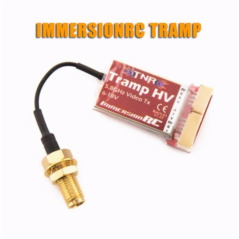 ImmersionRC Tramp HV 5.8GHz 48CH Raceband 1mW à> 600mW vidéo FPV transmetteur Version internationale pour RC jouets modèles Accs