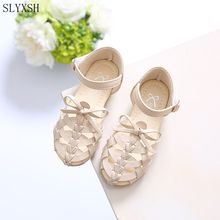 SLYXSH New summer season kids sandals women and boys sport sneakers antislip gentle backside youngsters sandals snug breathable sneakers