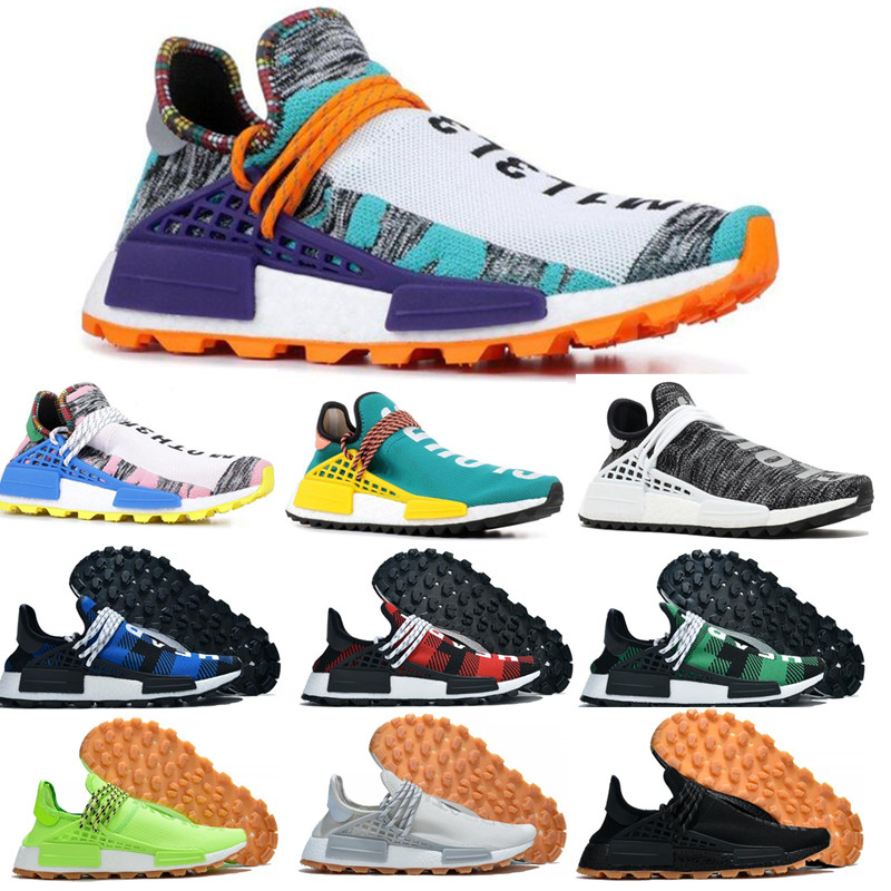 2019 hommes Race Pharrell Williams Inspiration Pack TR chaussures sport course chaussures discount athlétique hommes en plein air formation Sneaker