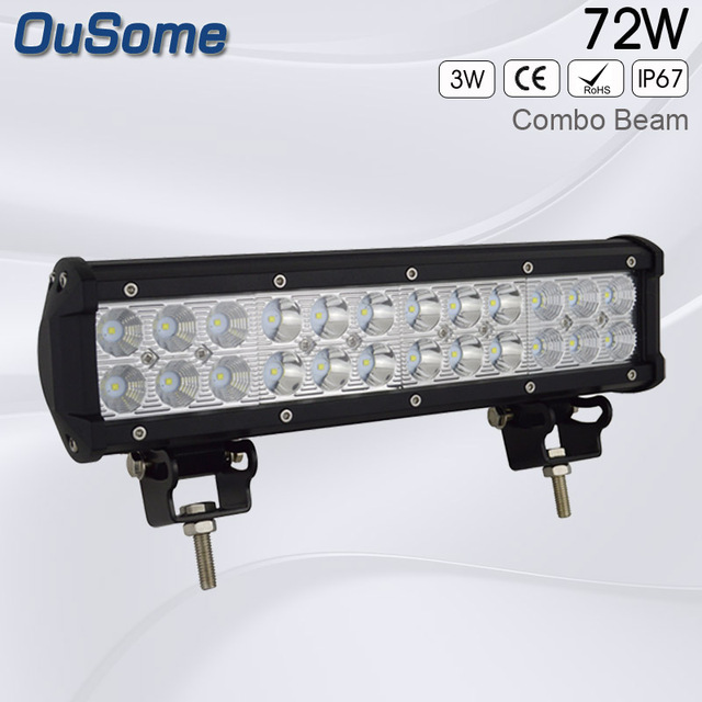 12 inch 72w double rows offroad car led light bar truck led work 12 inch 72w double rows offroad car led light bar truck led work light bar waterproof aloadofball Gallery