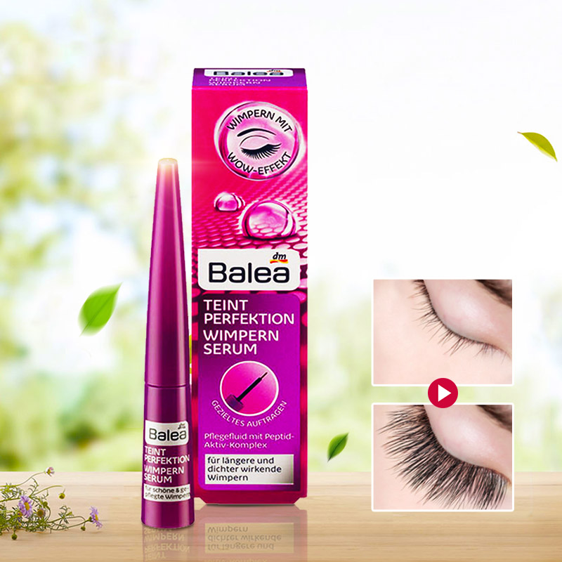 Germany Balea Eyelash Growth ENHANCEMENTS Lash Boost Serum Complexion Biotin Strength Density for Longer Thicker Looking Lashes цены