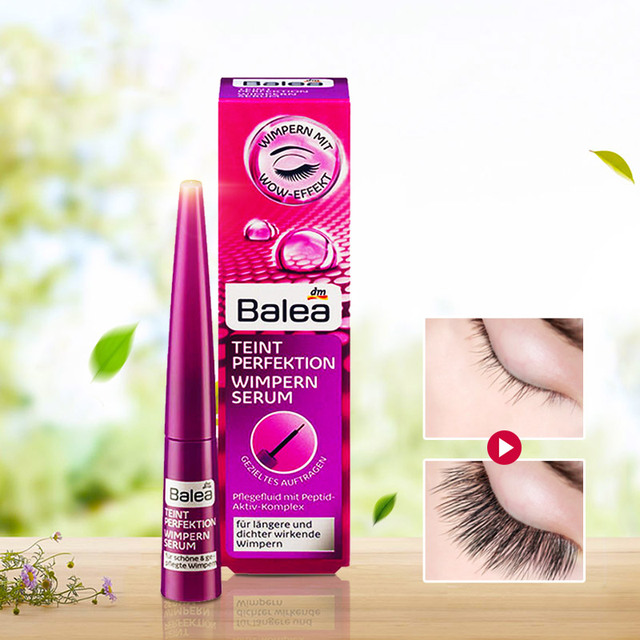 e500df5eeb9 Germany Balea Eyelash Growth ENHANCEMENTS Lash Boost Serum Complexion  Biotin Strength Density for Longer Thicker Looking Lashes