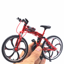 Diecast 1:10 Metal Cycling Bicycle Bike Yellow Red Model Car Metal Plastic Children'S Toys For Boys Die Cast Diecast Motorcycle mini vintage metal toy motorcycle toys hot wheel safe cool diecast blue yellow red motorcycle model toys for kids collection