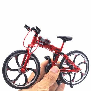 Troquelado Motocicleta Bicicleta Ciclismo 1 Diecast Para 10 Rojo Niños Juguetes Metal Modelo Coche Plástico Amarillo 34AjLR5