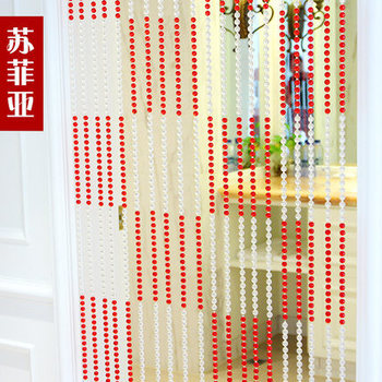 2016 New Crystal glass bead curtain 20 meter/lot door porch partition full bead wear not entangled free shipping