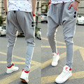 Nueva Moda Más Tamaño Masculinos Pantalones Ocasionales Delgados Grandes Pantalones Gota Entrepierna Pantalón Mujeres Bailan Hip Hop Hombres Pantalones de Harén