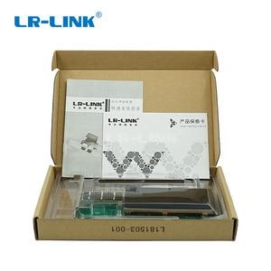 Image 5 - LR LINK 9901BF QSFP + 40 Gb Ethernet Lan Scheda di Rete PCI Express Adattatore Server di scheda di RETE In Fibra Ottica Intel Compatibile XL710QDA1