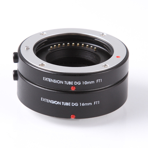 Image 1 - FOTGA Macro AF Auto Focus Extension Tube Lens Ring Adapter DG 10mm+16mm for Four Thirds M43 Micro 4/3 Camera