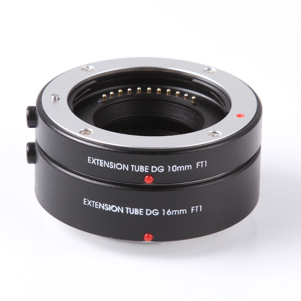 FOTGA Macro AF Tube d'extension de mise au point automatique adaptateur de bague d'objectif DG 10mm + 16mm pour quatre tiers M43 Micro 4/3 caméra