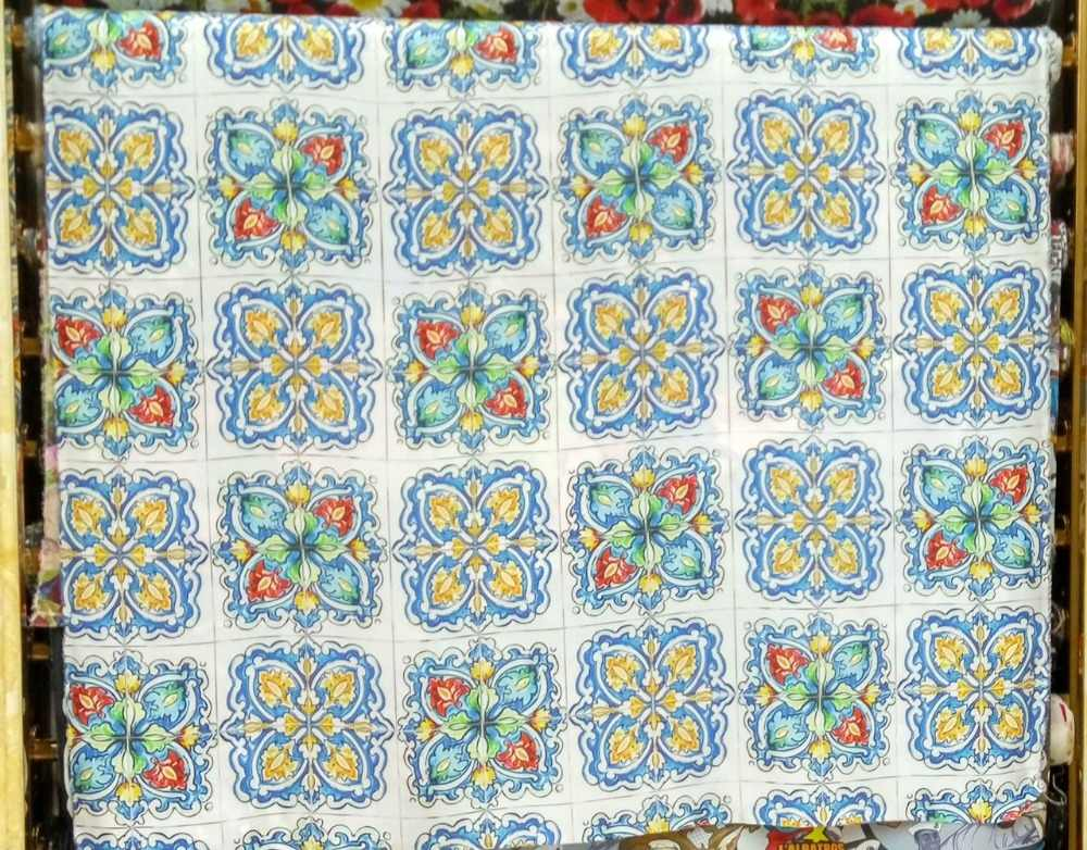 Высокое качество креп шелк супер атласной ткани синего цветы креп дизайны принтов блузка платье Летний стиль 16 мм 100% шелковых тканей