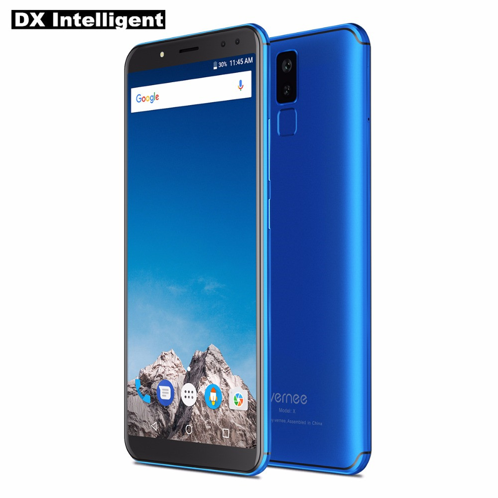 VERNEE X 6 GB 128 GB Visage ID SmartPhone 5.99