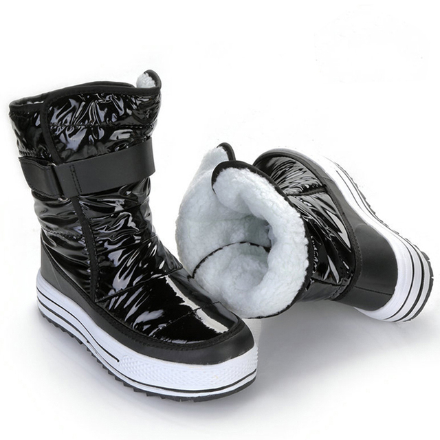 f2076b2ea20 US $28.18 35% OFF Women winter boots platform non slip waterproof winter  shoes women ankle boots thick fur warm women snow boots-in Ankle Boots from  ...